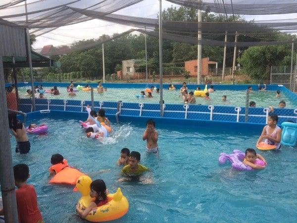 mô hình kinh doanh hồ bơi di động