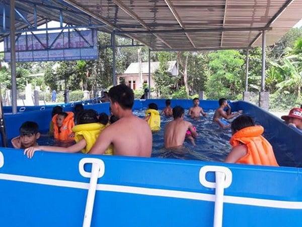 hồ bơi di động quảng trị