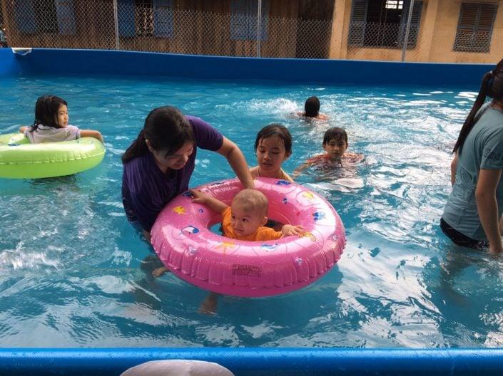 hồ bơi di động tại bình phước