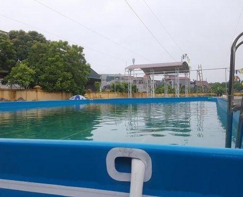 Hồ bơi di động tại hải dương