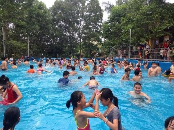 hồ bơi di động