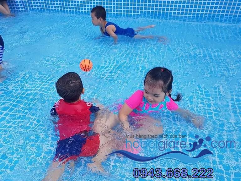 bể bơi mini 2