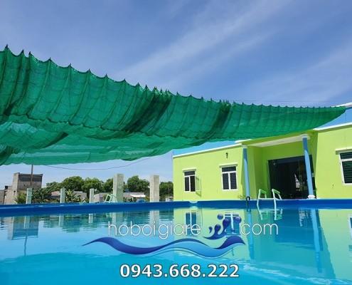 Hình ảnh tổng thể bể bơi